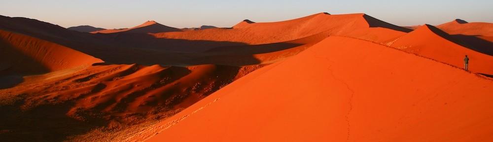 Dunes, Sossusvlei, Namibia