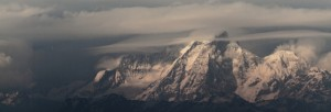 The Himalayas from Nagarkot, Nepal